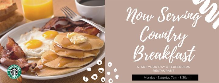 Burke & Wills Moree Motor Inn - Country Breakfast